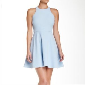 Elizabeth and James baby blue, textured dress